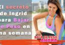 Bajar de peso con Ingrid Macher