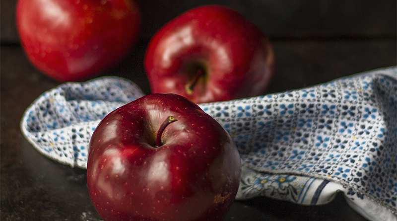A bajar de peso con la manzana